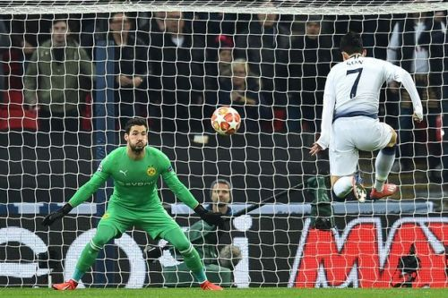 Spurs fired in two late goals to win the match 3-0.