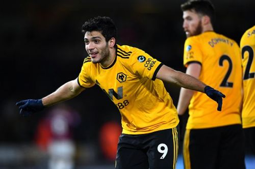 Wolverhampton Wanderer's Raul Jimenez