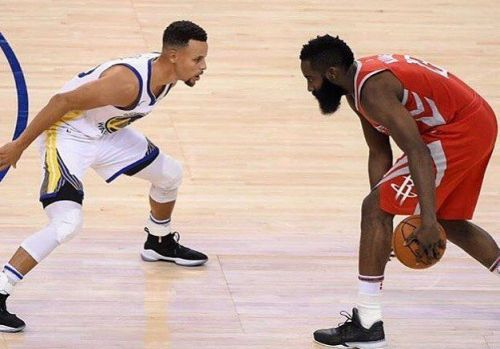 Harden and Curry are back at it this year with their outrageous scoring numbers.