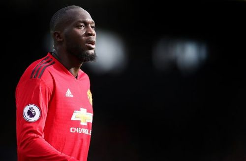 Romelu Lukaku is now the second choice at Manchester United