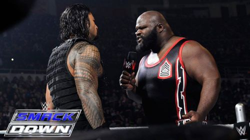 Mark Henry took his spot in the WWE Hall of Fame in 2018.