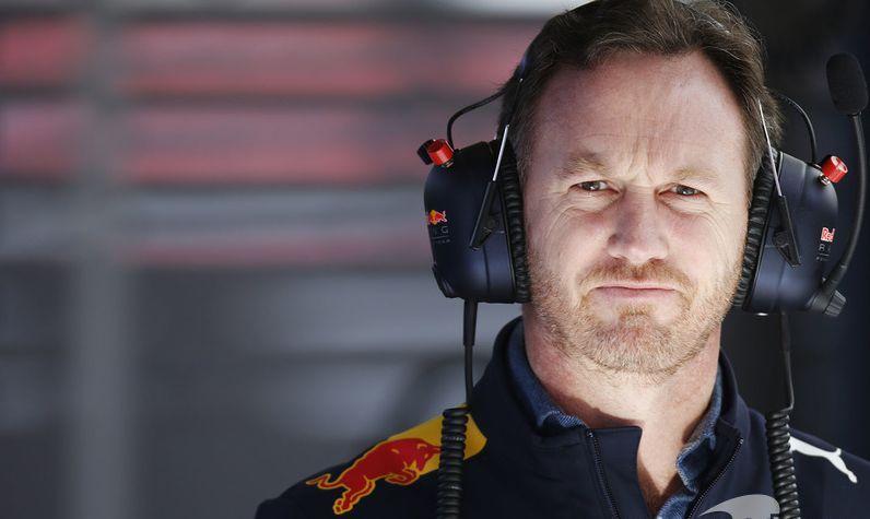 Red Bull Team Principal Christian Horner