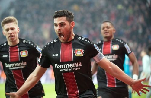 Volland worked hard for the entire 90 minutes and scored Leverkusen's second goal