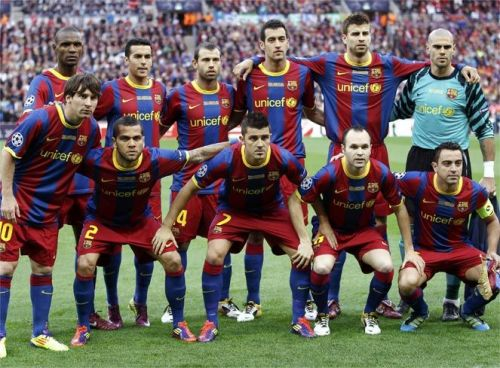 Barcelona's record breaking 2010-11 team is considered by many to be the greatest ever assembled