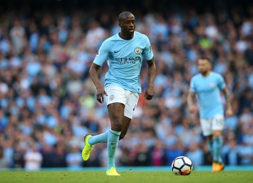 Yaya Toure has been at the heart of Manchester City's successes.