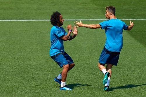 Marcelo and Cristiano Ronaldo became good friends during their time together at Real Madrid.
