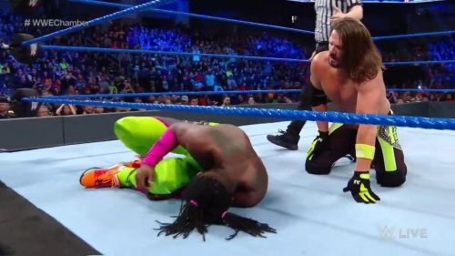 Kofi Kingston lasted an hour in this week's Gauntlet Match