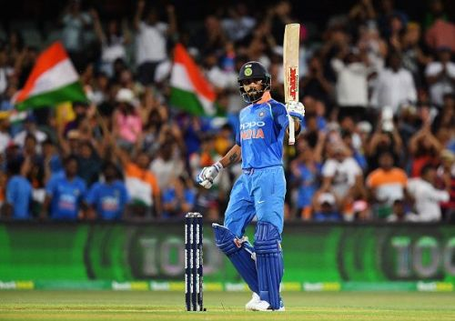 Virat kohli remains no.1 at icc rating