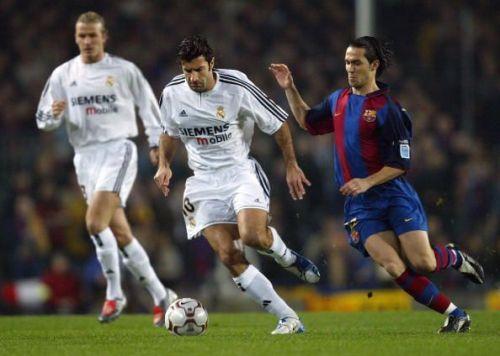 Luis Figo became a Galactico in 2000