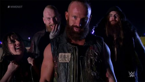 Nikki Cross wasn't part of the group when it was called to the main roster.