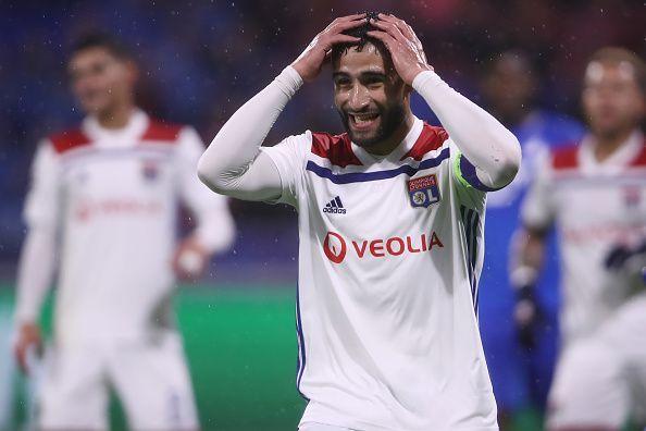 Olympique Lyonnais Captain Nabil Fekir