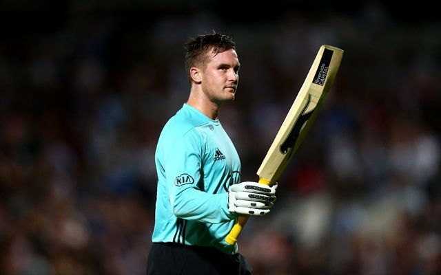 Jason Roy pulled out a catch from the top drawer