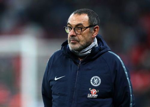 Chelsea players were stunned by Maurizio Sarri's habit in the training.