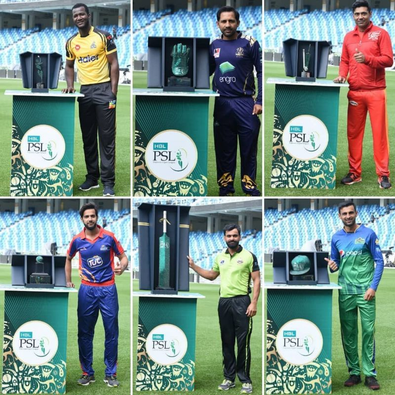 Captains with all the PSL Awards