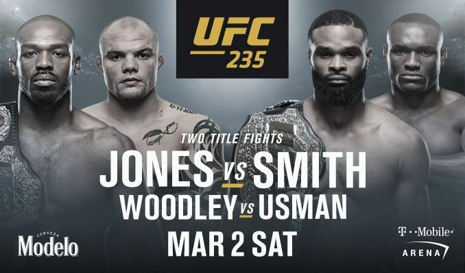 UFC 235: Jones vs Smith: Matches Start time, Live streaming Info, TV