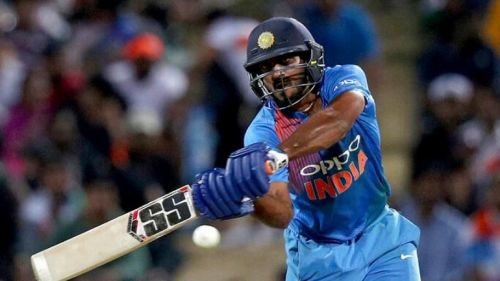 Vijay Shankar showed remarkable maturity and run-scoring ability when promoted to No.3