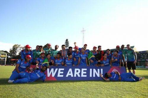 Afghanistan won the qualifying tournament for the world cup, beating West Indies in the final