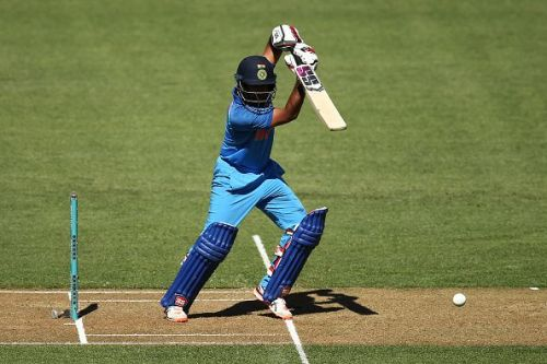 Ambati Rayudu striking the ball beautifully