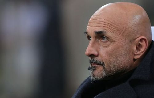 Luciano Spalletti during a Serie A game