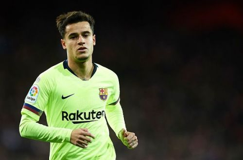 On his way out of Barcelona?