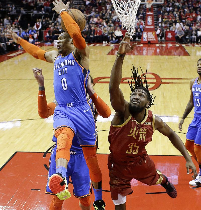 George, Westbrook Lead Thunder Rally Against Rockets