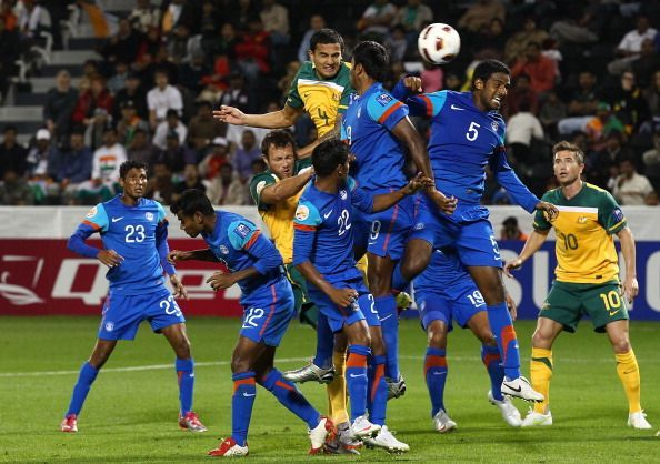 AFC Asian Cup - India crashed out in the group stages in 20