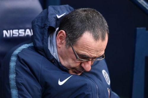 Maurizio Sarri is under fire right now