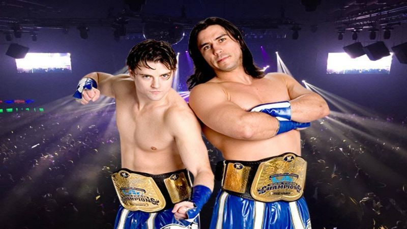 Brian Kendrick and Paul London were at the top in 2006