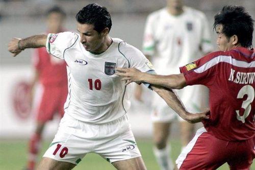 Ali Daei represented Iran a staggering 149 times