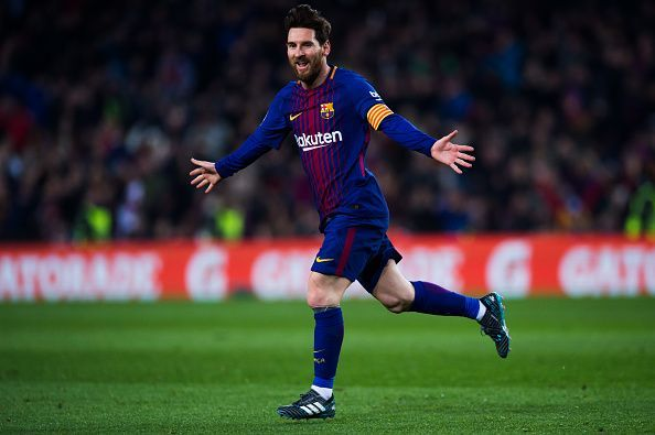 Messi was on fire for Barcelona once again