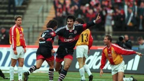 Ali Daei played for Bayern Munich and Hertha BSC in the Bundesliga