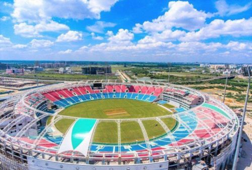 Image result for ekana international stadium capacity