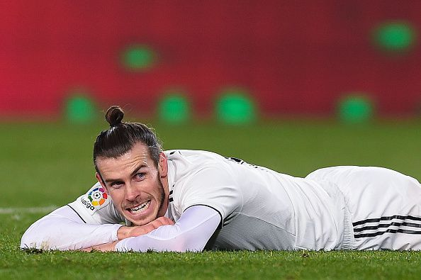 Bale missed a glorious opportunity to put Real Madrid ahead.