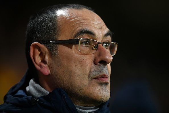 Sarri has failed to deliver at Stamford Bridge so far.