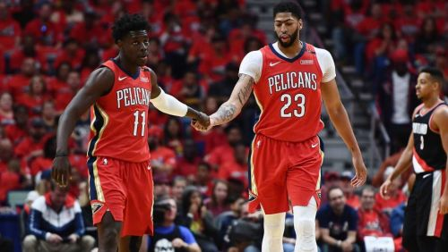 The overbearing Anthony Davis trade drama is behind them.