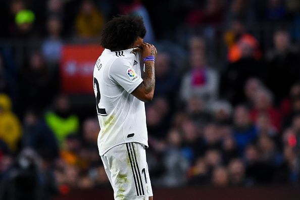 Marcelo has looked a figure of his former self.