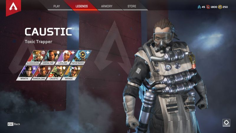 One of the paid character available in Apex Legends right now.