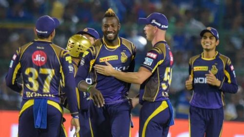 Power hitter Andre Russell is the mountain of the KKR's middle order.