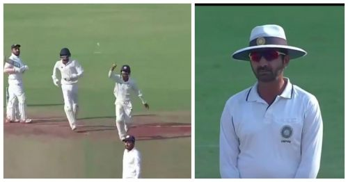 Snell Patel survived in spite of gloving a catch