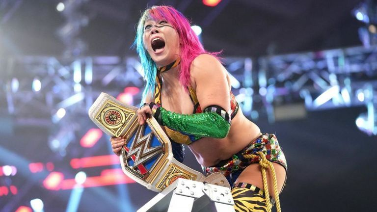 Asuka may not be defending her title at Elimination Chamber