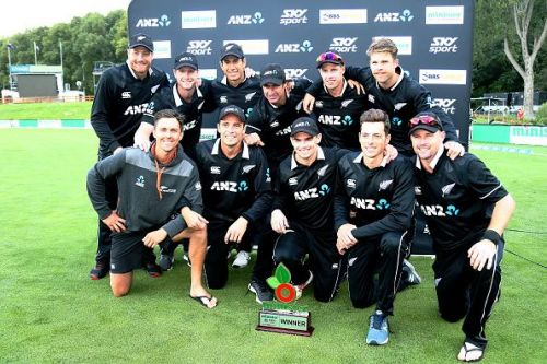 New Zealand recorded a thumping victory over Bangladesh in the 3-match ODI series