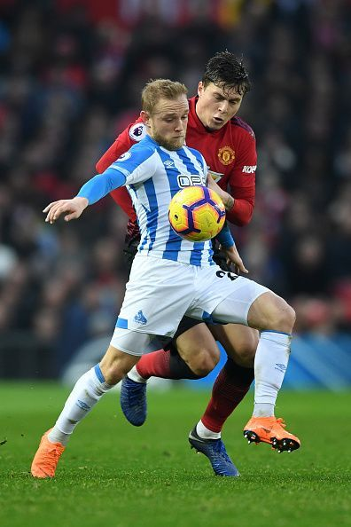 Alex Pritchard is doubtful for Huddersfield Town