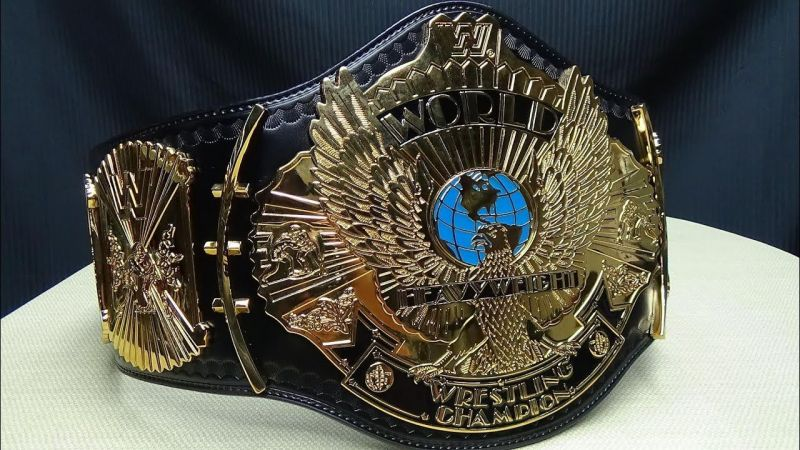 Image result for wwe championship winged eagle