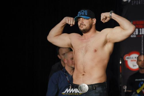 Matt Mitrione's athletic gifts have served him well in his MMA career