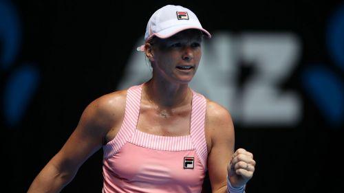 Kiki Bertens in action on the WTA Tour
