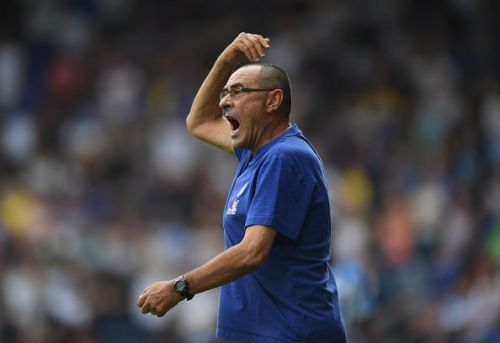 Maurizio Sarri is determined to solve Chelsea's problems