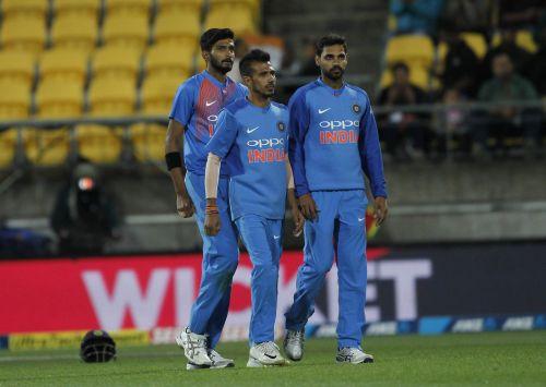 Chahal, khaleel Ahmad, Bhuvi
