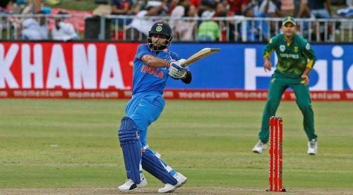 Scored 500+ runs in single odi series