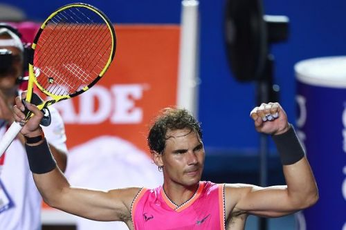 Telcel ATP Mexican Open 2019 - Day 2 -Rafael Nadal