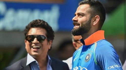 Virat Kohli is all set to break Sachin's record soon